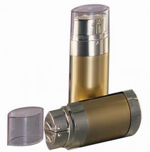 Buy cheap бутылка пустой формы 20мл 30мл 60мл овальной косемтик безвоздушная с трубками двойной камеры двойными product