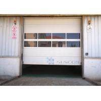 Buy cheap Safely Garage Industrial Sectional Doors Overhead Doors Big Size product