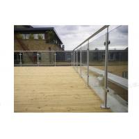 Buy cheap High Quality Stainless Steel Glass Balustrade product