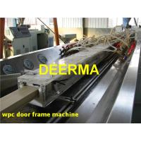 Buy cheap WPC Profile Production Line Wood Plastic Composite Door Frame Machine product