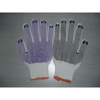 Buy cheap Nylon Knitted Work Glove With One Side Pvc Dotted product