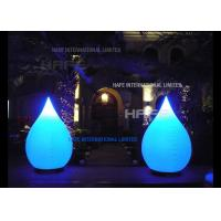 China Large Portable Inflatable Lighting Decoration LED 80W Water Balloon Lotus 120V 50HZ on sale