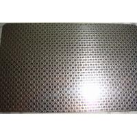 Buy cheap 201 304 stainless steel sheet Linen Embossed Pattern for kitchen sink from wholesalers