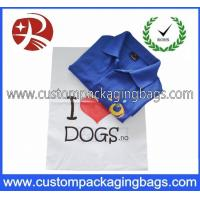 China Recyclable Die Cut Handle Plastic Eco Shopping Bags With Logo on sale
