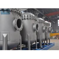 Buy cheap 2# Multi Stainless Steel Cartridge Filter Housing , Industrial Water Filter Housing CIP Designed product