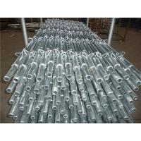 Buy cheap Kwikstage scaffolding standard hot dip galvanized from wholesalers