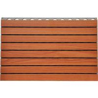 China Fire - Resistance Wooden Grooved Acoustic Panel For Offices Walls on sale