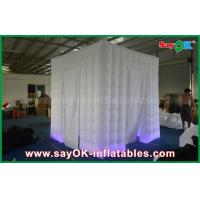 Buy cheap Two Doors Inflatable Photo booth Props Portable Shell with Led Lighting product