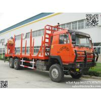 Buy cheap Custermizing  truck mounted Special Timber Grab on Truck Mounted Crane Delivery Timber, Scrap Metal cell:8615271357675 product