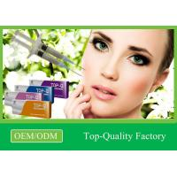 Buy cheap Pure Long Lasting Hyaluronic Acid Dermal Filler Anti - wrinkle Injections product