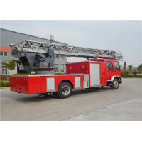 Buy cheap Six Seats Aerial Ladder Fire Truck product