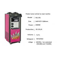 Quality Vertical 25L Fully - Auto Commercial Soft Serve Ice Cream Machine With Low for sale