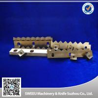 Buy cheap HRC 56-58 Plastic Cutting Blade / Industrial Shredder Blades Small Thermal Deformation product