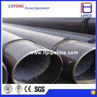 China API 5L schedule 40 steel pipe ASTM A53 GR.B 6 INCH steel LSAW pipe, oil pipe line on sale