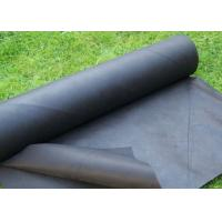 Buy cheap Virgin PP Spunbond Non Woven Weed Control Fabric / Garden Weed Barrier Cloth product