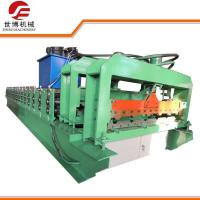 Quality Roofing Sheet Glazed Tile IBR Iron Sheet Roll Forming Making Machine Line 1115 for sale