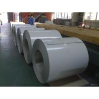 Ral 9006 Color Coated Steel Coil , Overlay Film Color Coated Steel Coil
