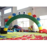 Buy cheap Commercial Inflatable Advertising Signs Arch Smiley Face 8 X 4m For Holiday product