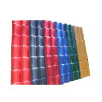 Buy cheap Waterproof Performance Corrugated Pvc Plastic Synthetic Resin Building Roof Tiles from wholesalers