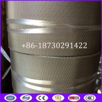 China RDW Woven SS Wire Cloth Filter Belts For Continuous Screen Changers made in china for Russia Market on sale