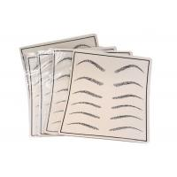 Buy cheap Gray Two Sides Available Eyebrow Line Permanent Makeup Practice Skin product