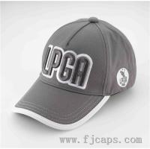 Buy cheap 【FUJUE】OEM 5 panel LPGA golf caps,JAPAN market golf hats 3d embroidery product
