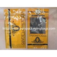 Buy cheap Plastic Cigarettes Cigar Humidor Bags With Hanger Hole Personalized Style product