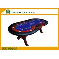 Folding poker table top solid wooden feet club home for fun wholesale