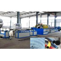 Buy cheap Soft PVC Fiber Reinforced Hose Production Line / PVC Braided Fiber Hose Extrusion Line from wholesalers