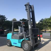 Buy cheap 6m Lift Height Diesel Engine Forklift Truck 4 Ton Streamline Balance Weight from wholesalers