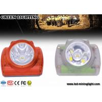 Buy cheap IP68 Cordless Coal Mining Lights , High Lumen Miner Headlamp for Industrial Underground product