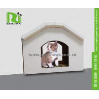 Buy cheap Cuddly Stable Corrugated Cardboard Furniture Cat House Indoor Textured Surface Grinding Claws product