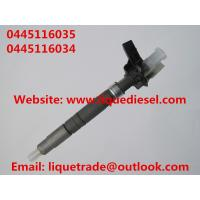 Buy cheap Genuine & New Piezo Fuel Injector 0445116035 0445116034 for VW 03L130277C product