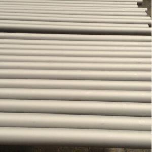 複式アパートのステンレス鋼の管 S31803 (F51)、S32205 (F60)合金 2205、S32550 (F61)、S32750 (F53)は、合金にします 2507 および S32760 (F55)を