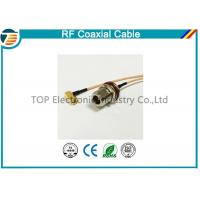 China N Type 50 OHMS Different RF Coaxial Cable RG136 , RG174 , RG178 on sale