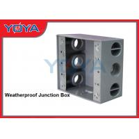 Buy cheap Weatherproof Outdoor Electrical Junction Box With Mounting Lugs For Branch Conduit from wholesalers