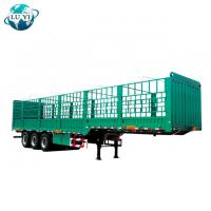 Buy cheap High quality 3 axles bulk cargo transport side wall semi truck trailer product
