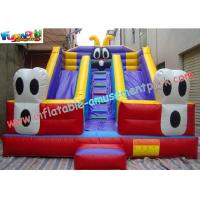 Large Commercial  grade PVC tarpaulin Inflatable Slide Toy by custom design for Kids