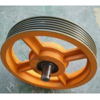 Rope Pulley Diameter : Diameter mm carbon steel casting wire rope sheave for