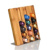 Quality Different Type Bamboo Office Supplies Wooden Shape Coffee Mug Holder Ce Approved for sale