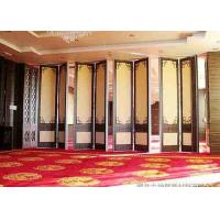 Buy cheap Steel Track Room Partition Wall , Top Hung Sliding Room Partitions Durable product