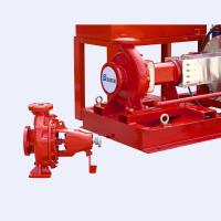 Buy cheap UL Listed FM Approved 300gpm @125psi Electric Motor Driven Fire Pump Set with from wholesalers