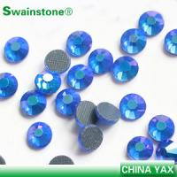 Buy cheap Factory high quality round lead free stone crystal, lead free stone crystal for hats/shoes product