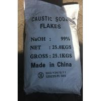 Buy cheap Industrial Grade Sodium Hydroxide Caustic Soda Flakes / Sodium Hydroxide NAOH product