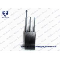 Buy cheap 3G 4G Handheld Signal Jammer 220 x 202 x 65mm Black Color For Cell Phone from wholesalers