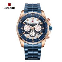 Buy cheap REWARD Quartz Mens Stainless Steel Watches , Analog Sports Wrist Watch Alloy Case product