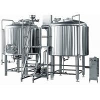 Buy cheap Professional 2MM - 3MM 2 Vessels Brewhouse For Craft Beer Making from wholesalers