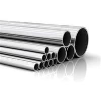 Buy cheap SS304 Polished cold drawn seamless stainless steel pipe with ISO, SGS for furniture product