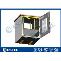 Buy cheap Outdoor Pole Mounted Telecom Cabinet / Small Enclosure For Pole Mount With 19 from wholesalers