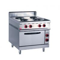 Buy cheap Stainless Steel Kitchen Commercial Baking Ovens , Industrial Bakery Ovens With Cabinet product